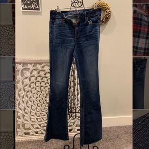 AE Super Stretch Flare Jeans